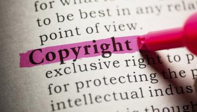 """Copyright"" highlighted in dictionary."