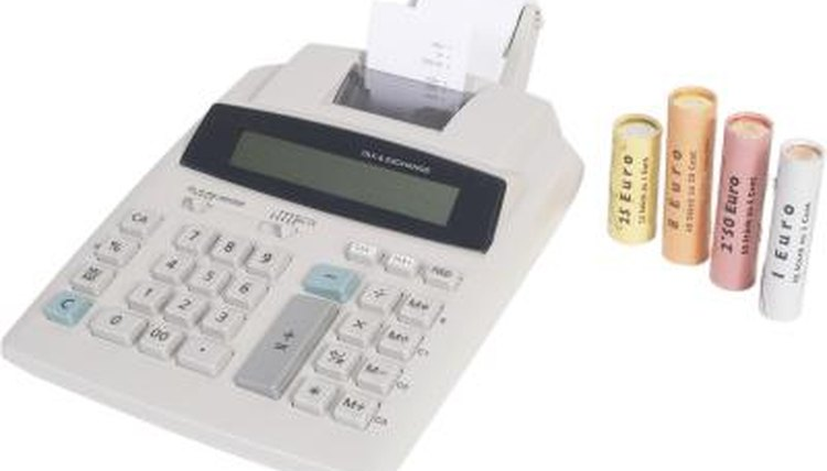 How to Feed Calculator Paper on a Printing Calculator | Synonym