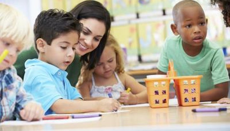 A major component of preschool teaching is the observance and assessment of developmental growth of the children.