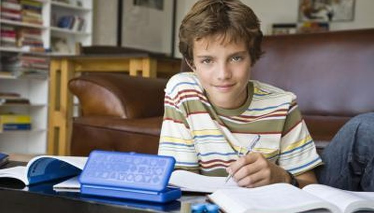 Give your home-schooled student documentation of his achievement with a transcript.