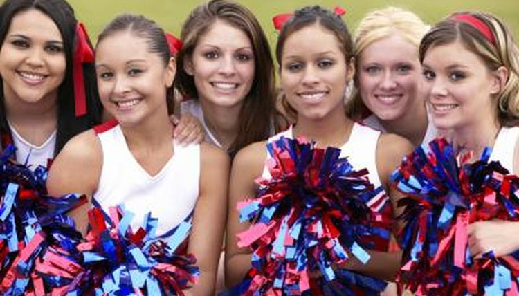 The social committee is an integral part of a high school drill team.