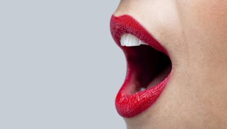 The mouth is only part of the complex speech system.