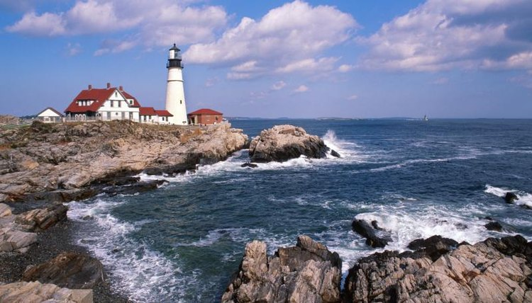The iconic Portland Head Light.