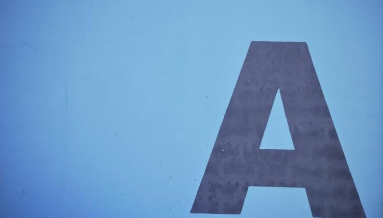 """A"" is an indefinite article that generally comes before nouns in English."