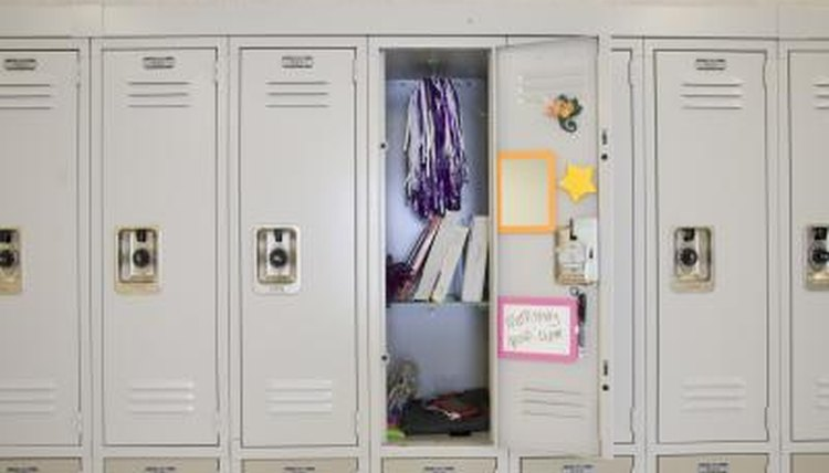 A student's locker is subject to search by school authorities.