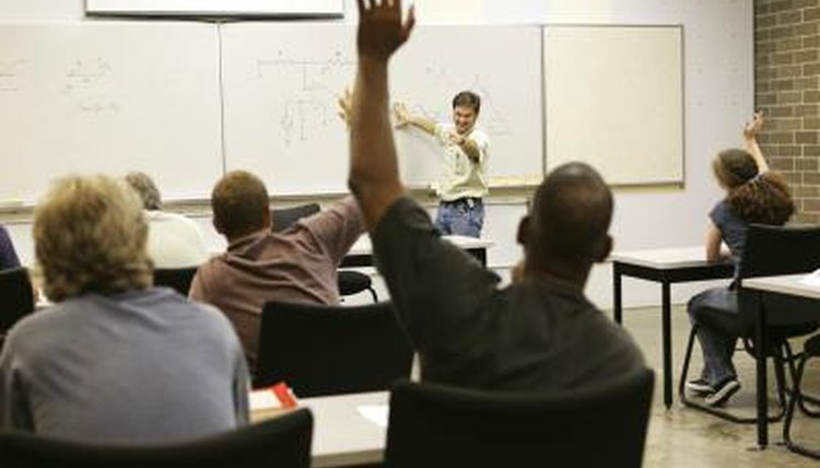 Make adult education fun with classroom games.