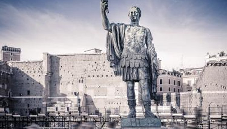 Statue of Caesar Augustus in Italy