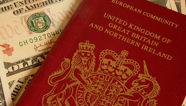 You, a UK passport, the United States