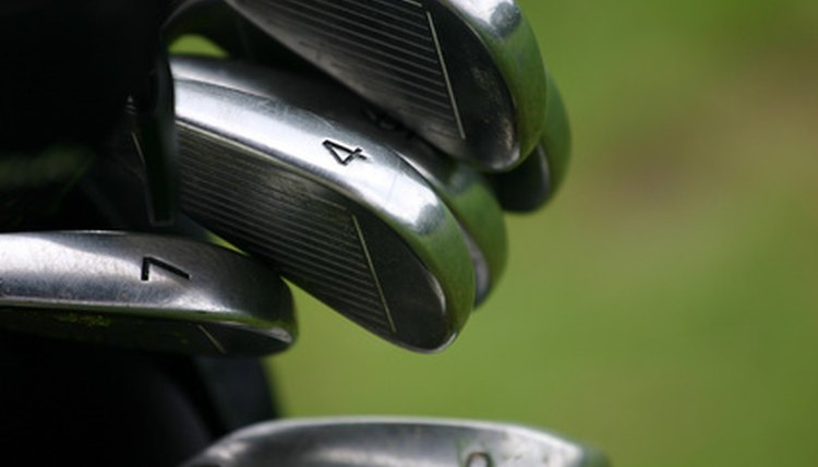 Irons are designed for accuracy, not distance.