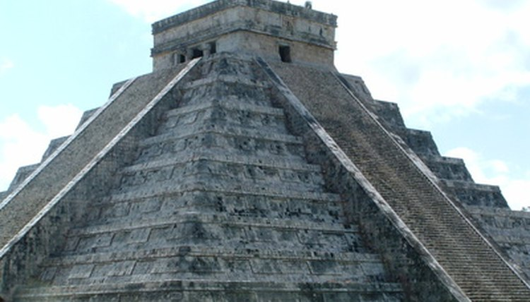 Chichen Itza, a Mayan pyramid built using stone tools