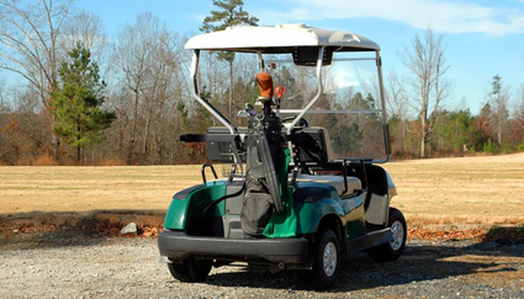 Golf carts can become dirty very easily.