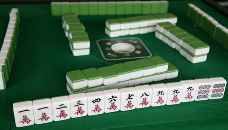 each character tile, a special meaning, Chinese, Mahjong