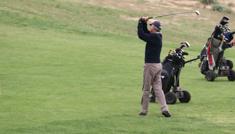 Graphite shafts are lighter than steel shafts, which can make for an easier swing.