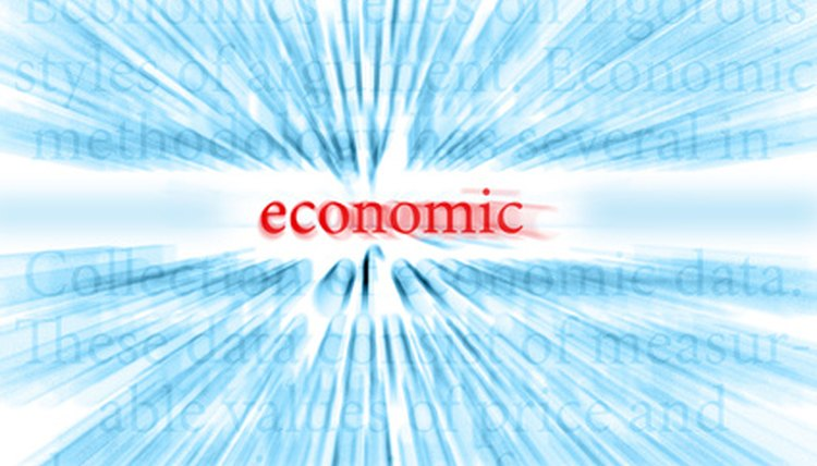 Factors affecting the economy are often intertwined.
