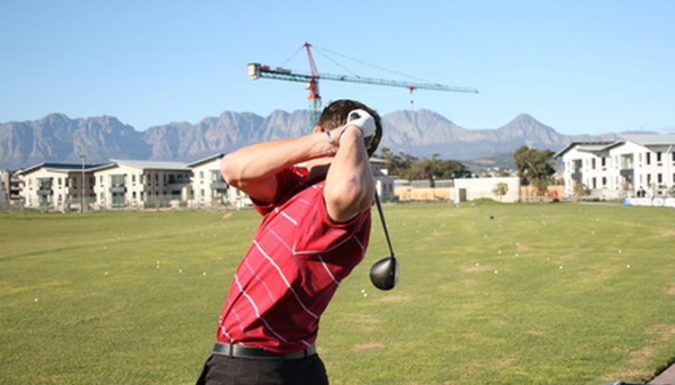 The right elbow transitions from hinge to lead during the swing.