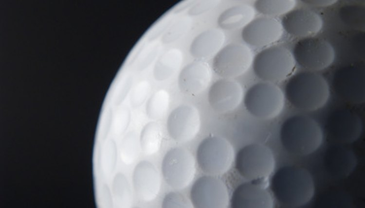 Golf ball compression may determine the distance of the ball.