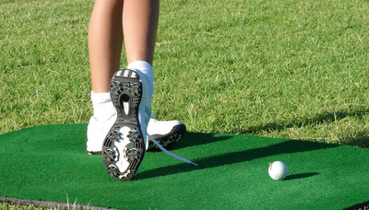 Golf shoes and spikes are an important way to maintain a steady balance while playing.