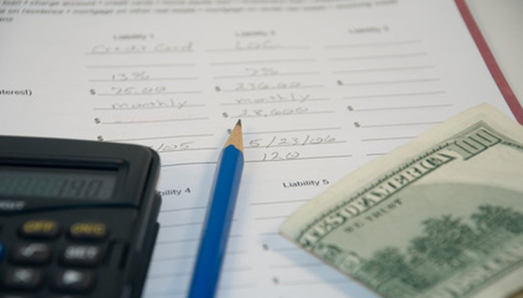Filing for any financial hardship involves many of the same steps.