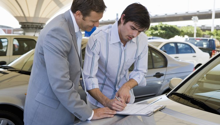 You'll have to refinance a relative's car if you take over ownership.