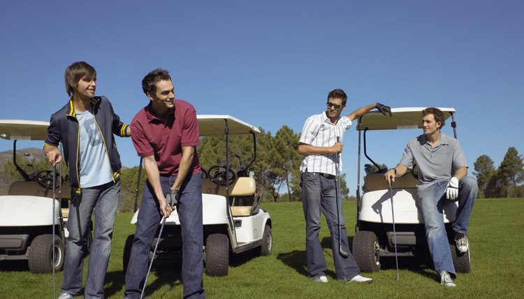 A golf handicap allows players of different skill levels to compete on an equitable basis.