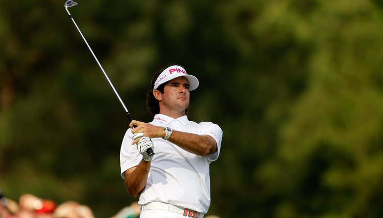 It'll take plenty of practice to swing the club as fast as 2012 Masters champion Bubba Watson.