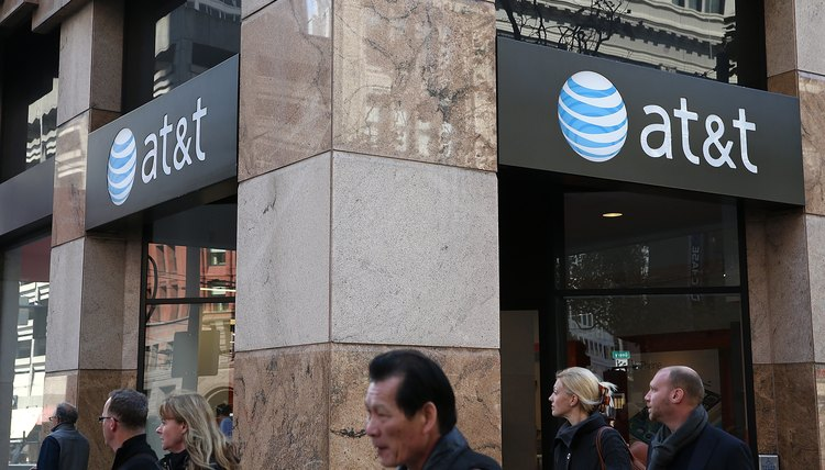AT&T provides DSL home network and mobile wireless services.