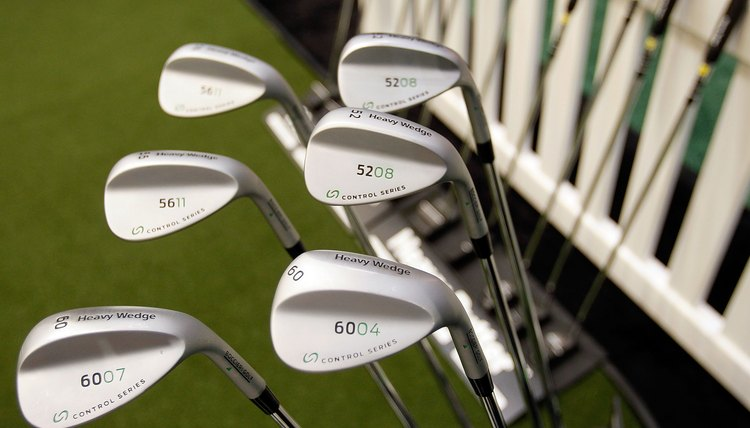 Loft and bounce are important aspects of wedges.