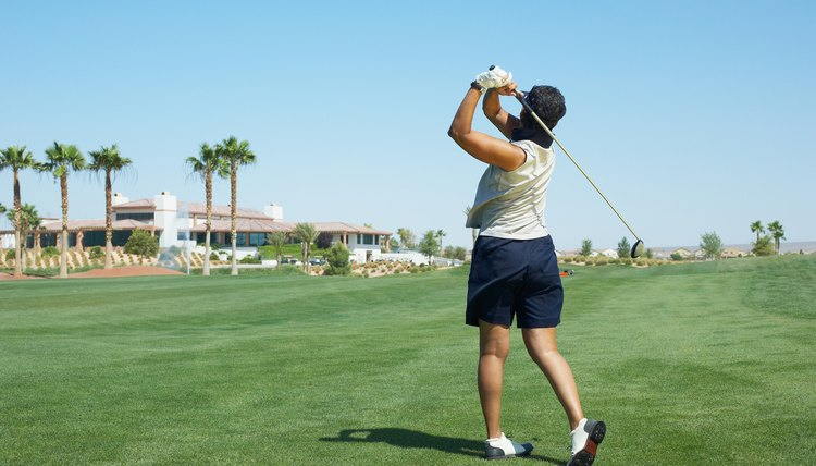 Top women golfers can drive the ball farther than some men.