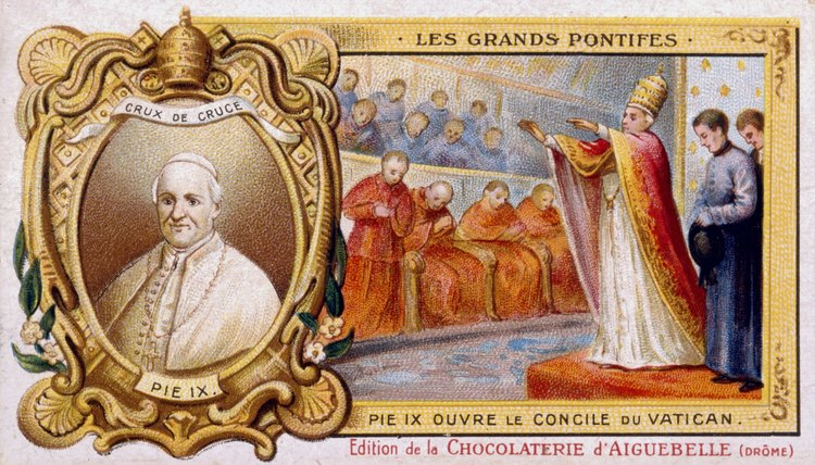 Rulers such as Pope Pius IX inspired revolution in Italy.