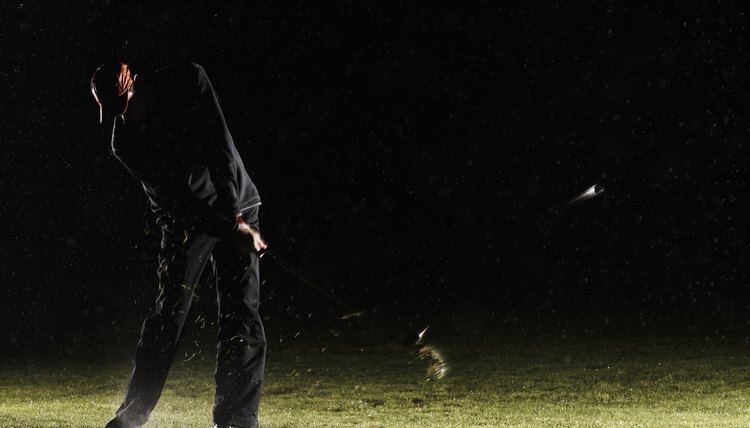 Golfing at night can present unusual challenges compared with daytime golf.
