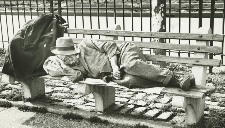 The Great Depression left many people homeless during the 1930s.