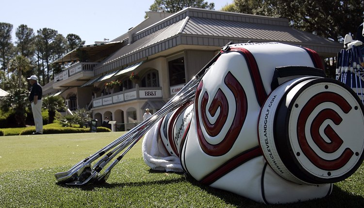Players carry several different types of clubs in their bag for different situations.