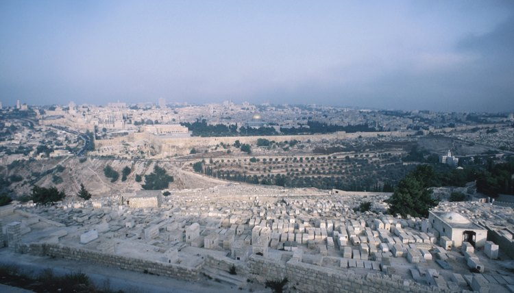 Ancient Jews buried their dead outside the walls of the Holy City in Jerusalem's Kidron Valley.