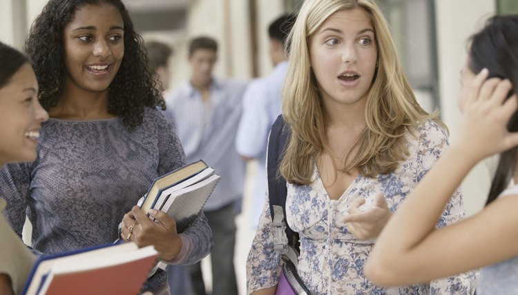Gossip can quickly spread through your school's halls.