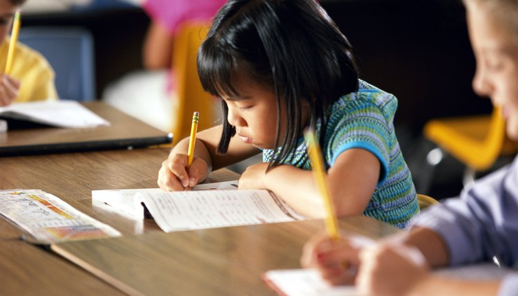 For third-graders, writing a paragraph is a new and challenging activity.