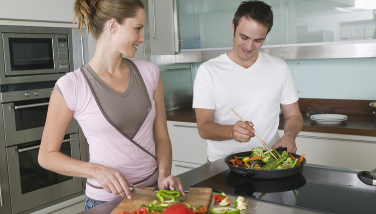 Include health benefits as part of a cooking process thesis.