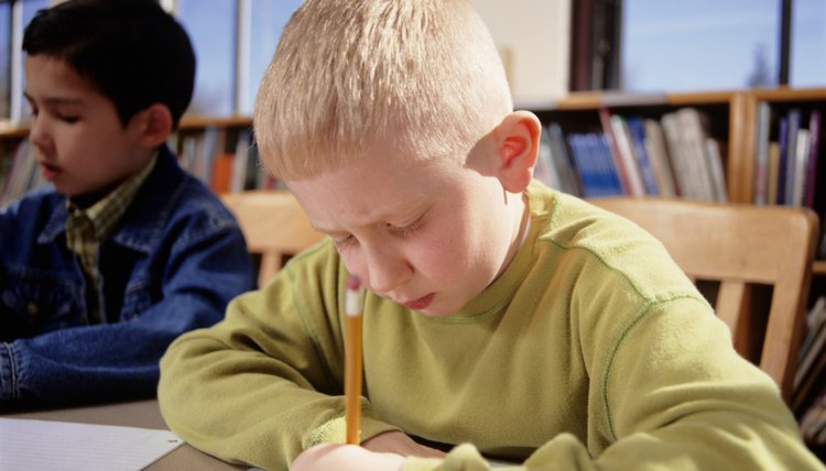 In third grade, paragraph writing should focus on developing a clear topic.