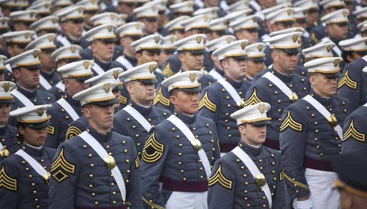 Service academies and ROTC are the two main sources of military officers.