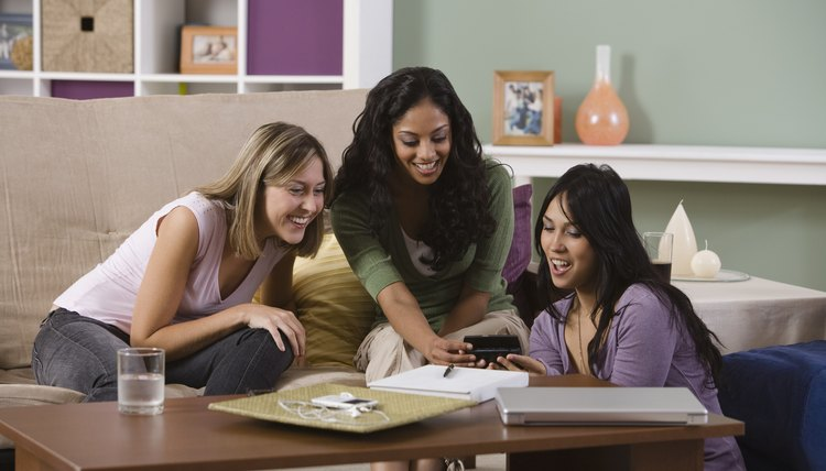 Try studying together to build a sense of sisterhood in your sorority house.