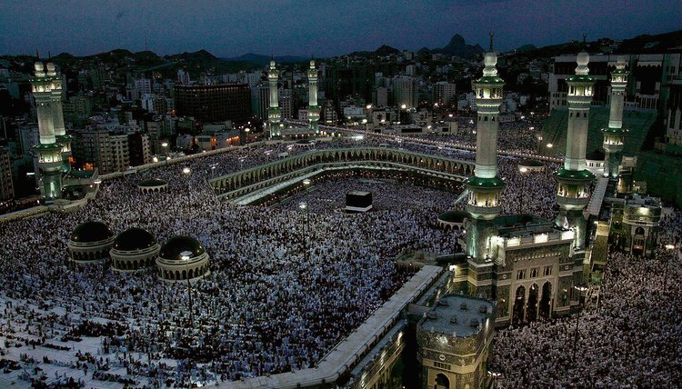 The Saudi Arabian government oversees and protects Muslims making the pilgrimage to Mecca.