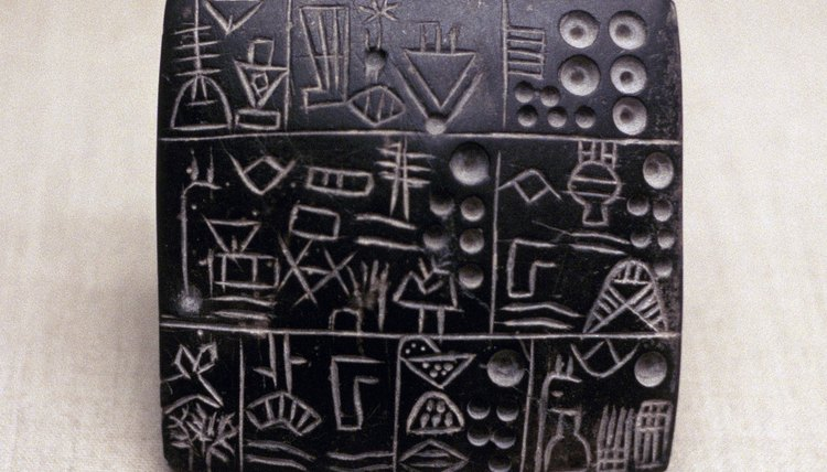 Sumerian pictographs predated cuneiform script.