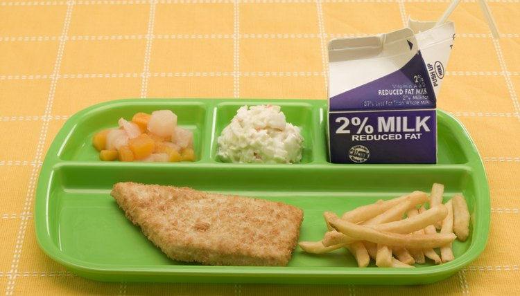 Schools need to provide children with healthy lunches.