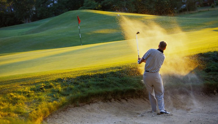 Landing in several bunkers can slow down your round of golf.