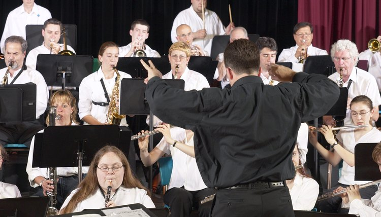 Becoming a band director requires a bachelor's degree in music.