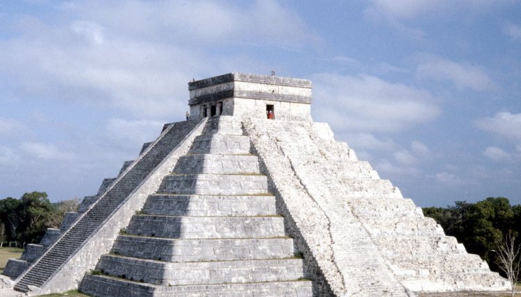 The Mayan pyramid at Chichen Itza honoring Kukulcan, known to the Aztecs as Quetazalcoatl.