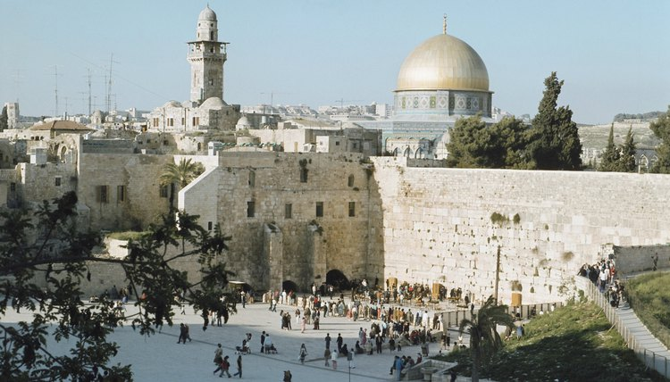 Jerusalem is a holy site for all three of the Abrahamic religions.