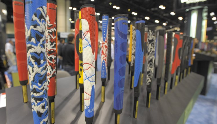 There are a multitude of putter grip materials, styles, shapes and colors...so choose wisely.