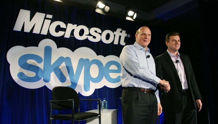 Microsoft purchased Skype for $8.5 billion.