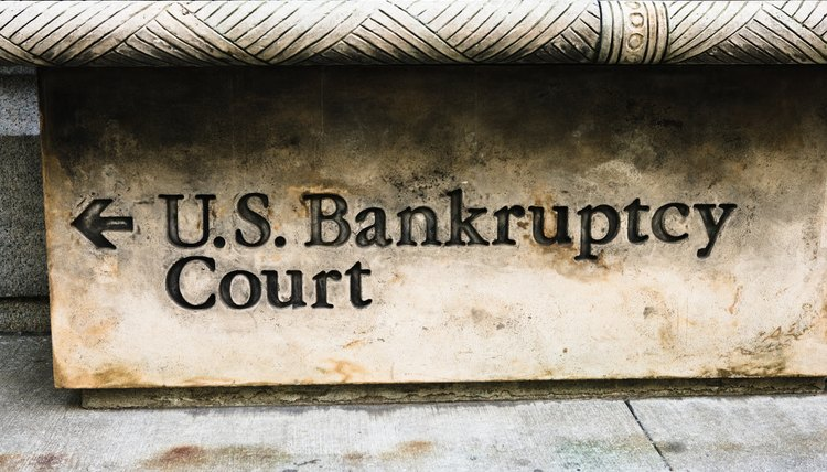 Bankruptcy court relieves debts, but makes future credit difficult to obtain.