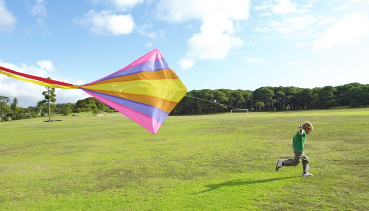 Buddy and his friend exchange kites for Christmas many years in a row.